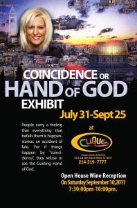 Coincidence Or Hand Of God Exhibit Reception Sept 10,2011