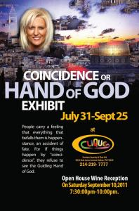 Coincidence Or The Hand Of God Exhibit- Call For Artists