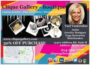 Meet Yael VanGruber Of Clique Gallery In Addison