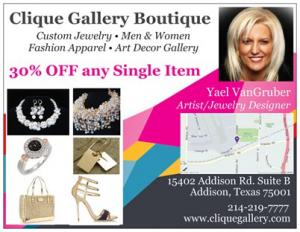 Clique Gallery And Fashion Boutique Takes Art To A New Level